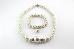 Collar de la perla Fotografía de archivo libre de regalías