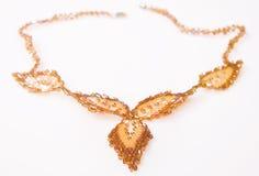 Collar decorativo del grano Imagen de archivo libre de regalías