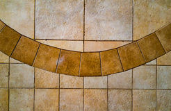 Collar background. Floor tiles looks like collar of the robe royalty free stock photo