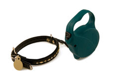 Collar For A Dog Stock Photography