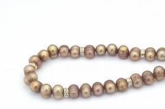 Collar II de la perla Fotos de archivo libres de regalías
