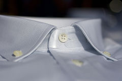 Collar of a shirt Royalty Free Stock Photo