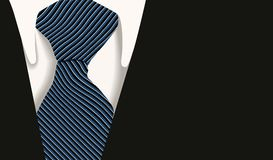 Collar tie shirt business stock illustration
