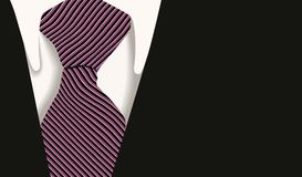 Collar tie shirt business Stock Photography