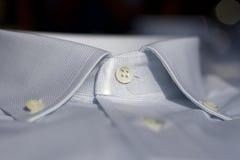 Collare di una camicia Fotografia Stock Libera da Diritti