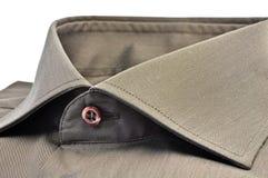 Collare grigio Fotografia Stock