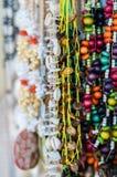 Collares coloridos fotografía de archivo libre de regalías