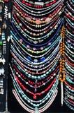 Collar y bijouterie de la joyería Fotos de archivo