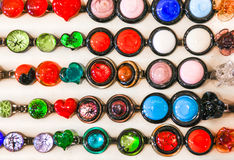 Collares de Murano Foto de archivo