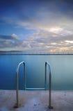 Collaroy oceanu skały basen Fotografia Royalty Free