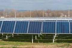 Collctors di energia di Sun Fotografie Stock Libere da Diritti