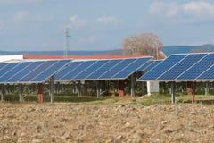 Collctors di energia di Sun Immagine Stock