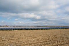 Collctors di energia di Sun Immagini Stock Libere da Diritti