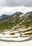 Colle dell'Agnello, Francuscy Alps Zdjęcie Royalty Free