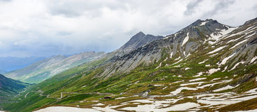 Colle dell'Agnello, French Alps Royalty Free Stock Photography