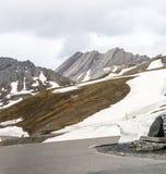 Colle dell'Agnello, French Alps. Colle dell'Agnello (Hautes-Alpes, Provence-Alpes-Cote d'Azur, France), mountain landscape at summer Stock Photo