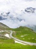 Colle dell'Agnello, Italian Alps. Colle dell'Agnello (Val Varaita, Cuneo, Piedmont, Italy), mountain landscape at summer Royalty Free Stock Photo