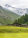 Colle dell'Agnello, Val Varaita Royalty Free Stock Photos