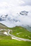 Colle dell'Agnello, Włoscy Alps Zdjęcie Royalty Free