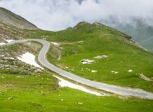 Colle dell'Agnello, Włoscy Alps Zdjęcia Stock