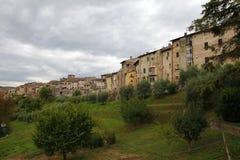Colle Di Val d'Elsa, Italië stock afbeelding