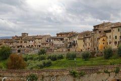 Colle Di Val d'Elsa, Italië stock foto's