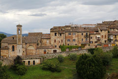 Colle di val d'Elsa, Italy. Colle di val d'Elsa, a beautiful medieval village in the Tuscany, Italy Stock Photo