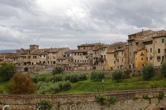 Colle di val d'Elsa, Italy. Colle di val d'Elsa, a beautiful medieval village in the Tuscany, Italy Stock Photos