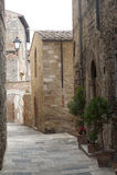Colle di Val d'Elsa (Siena, Toskana) Stockfoto