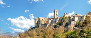 Colle Di Val D'Elsa, Tuscany, Italy. The old town of Colle Di Val d'Elsa in Tuscany, Italy Royalty Free Stock Photography