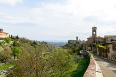 Colle di Val d'Elsa, Tuscany (Italy) Stock Photo