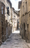 Colle di Val d'Elsa (Tuscany) Royalty Free Stock Photo