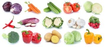 Colle fresco del cavolo dei pomodori della lattuga delle patate delle carote delle verdure Fotografie Stock Libere da Diritti
