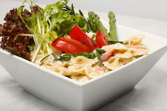 Colle le détail de salade Photo stock