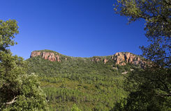 Colle Rousse Blavet Gorge, Bagnols Royalty Free Stock Image