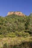 Colle Rousse, prise volcanique, gorge de Blavet, Bagnols Photo stock
