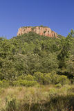 Colle Rousse, Volcanic plug, Blavet Gorge, Bagnols Stock Photo