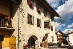 In Colle Santa Lucia, Dolomites Stock Image