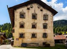 In Colle Santa Lucia, Dolomites Royalty Free Stock Photos
