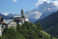 Colle Santa Lucia, Dolomites Stock Image