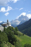 Colle Santa Lucia, Dolomites Royalty Free Stock Photos