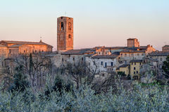 Colle Val d'Elsa. Colle di Val d'Elsa, in province of Siena, is internationally renowned for the production of crystal glassware Stock Photography