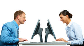 Colleagues Stock Photography