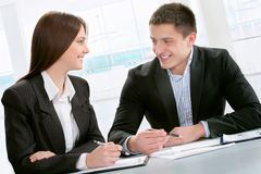 Colleagues Royalty Free Stock Images