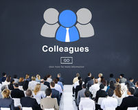 Colleagues Alliance Collaboration Partnership Team Concept Royalty Free Stock Photo