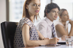 Colleagues At Business Meeting Stock Photography