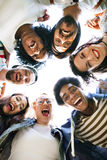 Colleagues Connection Student Relationship Team Concept stock image
