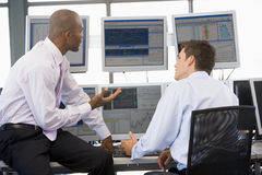 Colleagues In Discussion Royalty Free Stock Image