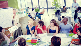 Colleagues Diverse Student Teamwork Coworker Concept Stock Photo