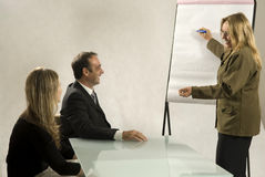 Colleagues In Meeting Royalty Free Stock Photography
